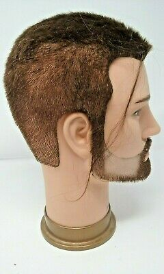 Cosmetology Mannequin Head Morris Flamingo #3 Pre Owned Practice Haircut Beauty