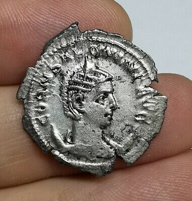 SCARCE Ancient Roman Imperial Salonina 256 AD Silver Antoninianus Coin XF