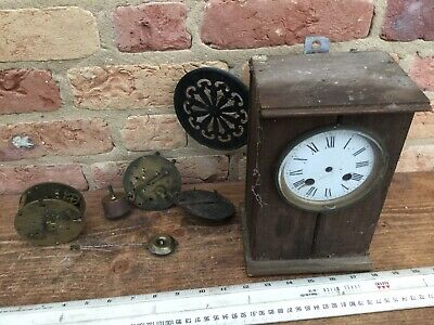 Vintage mechanical clock spares repairs / project