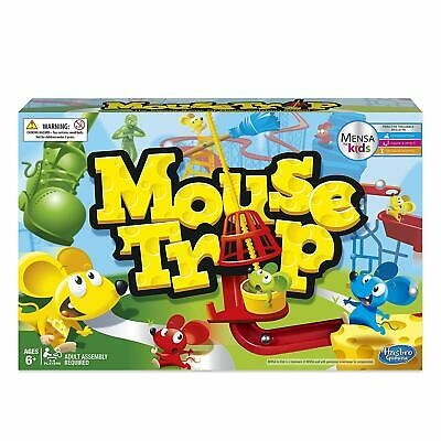 Hasbro Gaming Mouse Trap Game with 3 Action Contraptions (6+) - BNIB