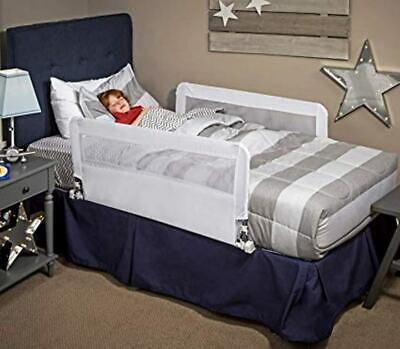 Regalo HideAway Double Sided Bed Rail Guard with Reinforced Anchor Safety Syste
