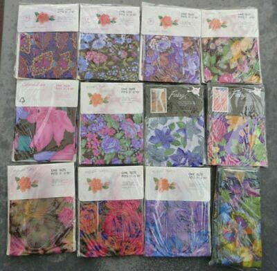 NEW FOOTLESS PRINTED TIGHTS 20 Patterns QUALITY FASHION HOSIERY AUS SELLER