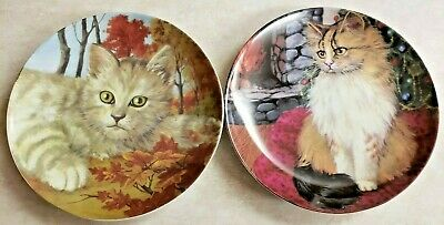 """Cat Collection Plate """"Mouse Cat"""" Porcelain Formalities Baum Bros"""