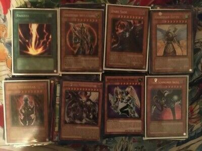 Yugioh 50 Card All Holographic Holo Foil Collection Lot! Plus 10 Free Rares!