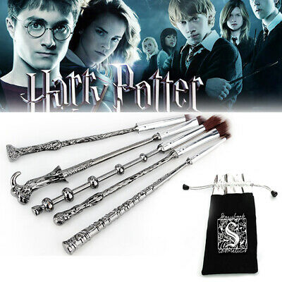5Pcs Harry Potter Wizard Make up Brush Set Wand Brushes Makeup Gifts Set