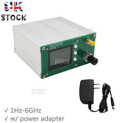 Frequency Meter FA-2 1Hz-6GHz Frequency Counter Kit 11 bits/sec + Power UK