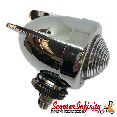 Spotlight / Spotlamp Bullet Mod Style With 3 Wings (Universal, Vespa Lambretta)