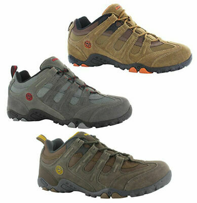 Hi-tec Mens Walking Trainers Quadra Classic Hiking Outdoor Shoe 3 Colours UK7-12