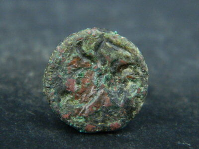 Ancient Bronze seal/stamp Bactrian 300 BC #BR6591