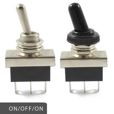 Heavy Duty On / Off / On Toggle Switch 25 AMP Rated 12v / 24v 3 Way Positions