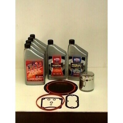 Lucas Oil, Oil Change Kit, Twin Cam '06 & Later, Synthetic, 25-1005