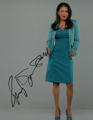 Penny Johnson Jerald signed 10x8 photo AFTAL & UACC [16375] + Signing Details