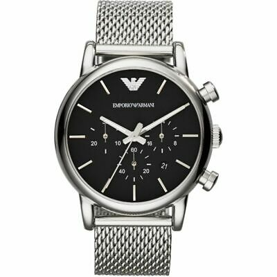 New Emporio Armani Luigi Ar1811 Mens Chronograph Watch - 2 Years Warranty