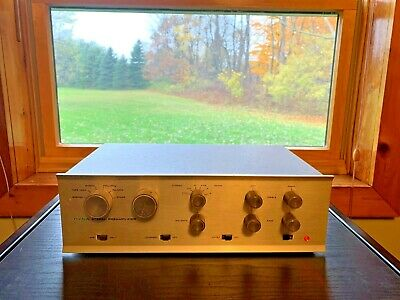 Dynaco PAS 3 Stereo TUBE Preamp w/phono New 12AX7 tubes Tested 19-10