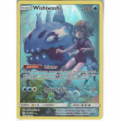 240/236 Wishiwashi | Secret Rare Card | SM12 Cosmic Eclipse Pokemon TCG Full Art