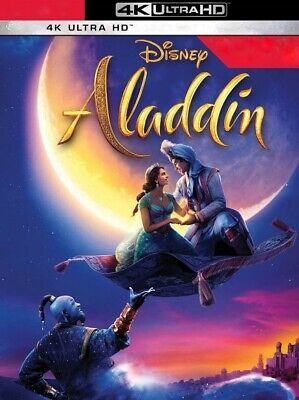 Aladdin - Disney (4K Ultra HD, DISK ONLY, 2019) Live-Action / Will Smith