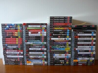 *SPRING SALE* 86 PlayStation 3 titles, all VGC - Dropdown menu - PS3 Sony