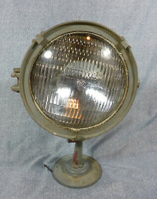 Vintage Guardian Light Co. Spotlight on Adjustable Base