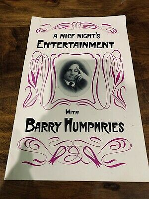 A Nice Night's Entertainment with Barry Humphries, 1962, Australia, comedy