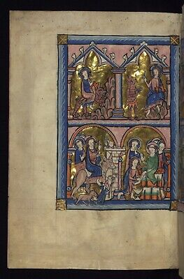 cARROW pSALTER Manuscripts. COLLECTION OF 12  High Quality  Reproductions .New