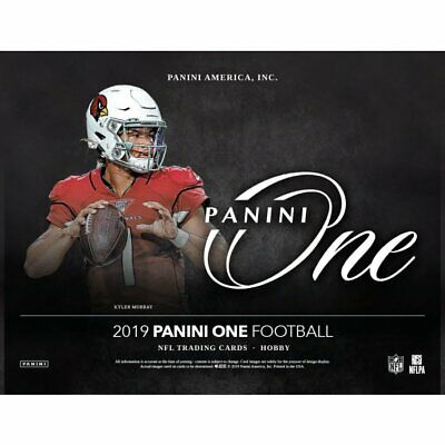 2019 Panini One Football Hobby 20 Box Case Presell SEALED CASE