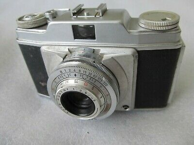 1950's VINTAGE Agfa Silette 35 mm CAMERA - Type 2 with case