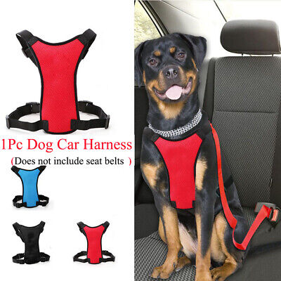 Breathable Safety Clip Dog Pet Harness Air Mesh Adjustable Restraint Lead
