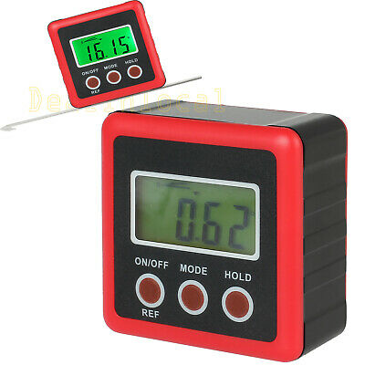 360° Digital LCD Level Box Protractor Gauge Angle Finder Inclinometer Magnetic