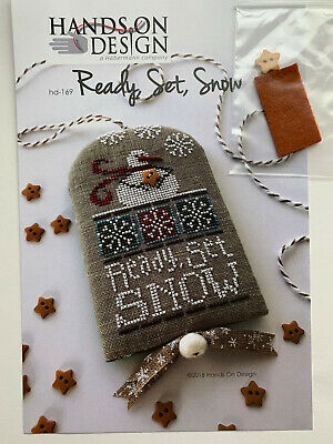 Hands on Design - Ready, Set, Snow -- Cross Stitch Pattern/Chart