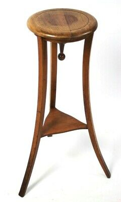 Antique Beech 2 Tier Plant Stand - FREE Shipping [5637]