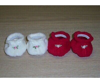 """DOLLS BOOTIES 14"""" CABBAGE PATCH KIDS x 2 pair- Shoes"""