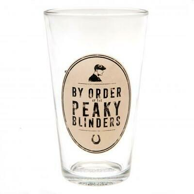 OFFICIAL BBC PEAKY BLINDERS SHELBY BROTHERS SET OF 2 WHISKEY GLASSES NEW IN BOX