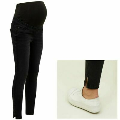 NEW LOOK Maternity Over Bump Jenna Jeans, Pregnancy Skinny Jeggings Sizes 8 - 20