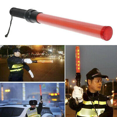 Signal LED Traffic Safety Wand Baton Road Control Warning Light Traffic Contr F
