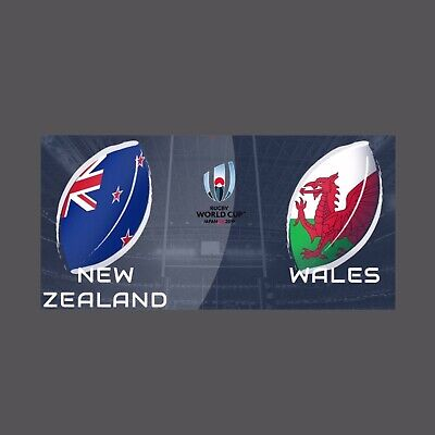Wales V New Zealald Rugby Union Bronze Medal 2019 World Cup Japan Programme