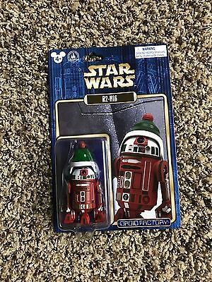 Disney Parks Star Wars Droid Factory R2-H16 Astromech Droid Holiday Christmas