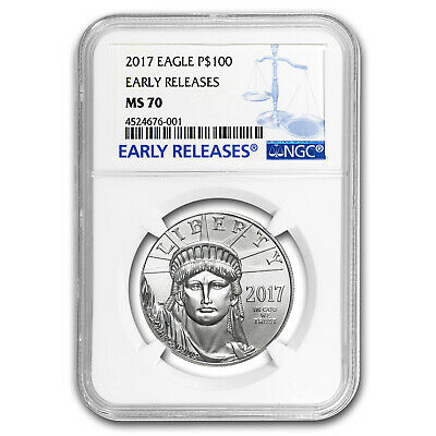 2017 1 oz Platinum American Eagle MS-70 NGC (Early Releases) - SKU#102959