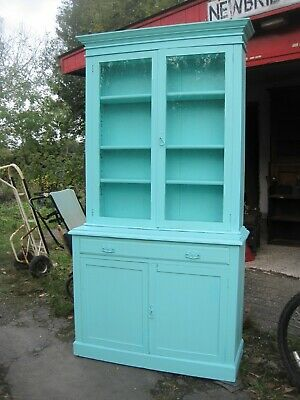 Antique Bookcase. Pine.