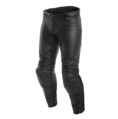 New Dainese Assen Perforated Leather Pants Men's EU 56 Black #155370960456