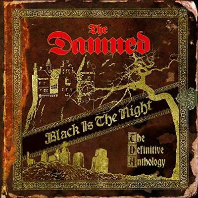 The Damned-Black Is The Night (UK IMPORT) CD NEW