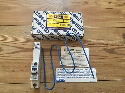 Proteus Geyer RCBO 40 Amp Type C 30 mA trip Mcb 406MCRSP