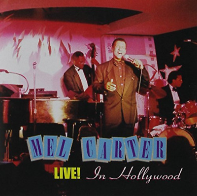 Mel Carter Live! In Hollywood (US IMPORT) CD NEW