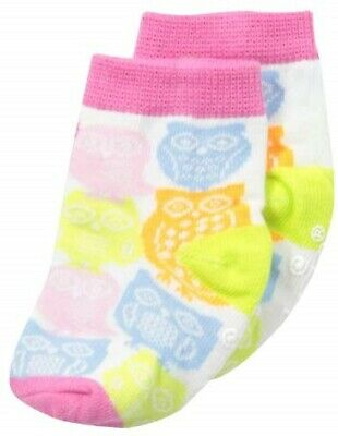 Mud Pie E9 Foresta Friends Neonata Rosa Gufo Calzini 0-12M 1542033