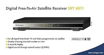 Decoder Satellitare Free To Air Strong Srt 6011