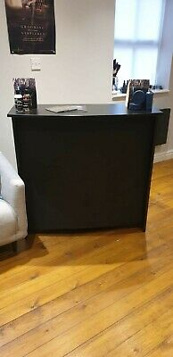Hairdressers Barbers Beauty Salon Reception Desk black but can be painted