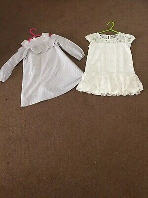 Girls Next Dresses Aged 2/3 And 3 Years New without Tags