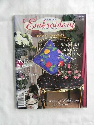 Creative Embroidery by Machine - Soft Cover Book