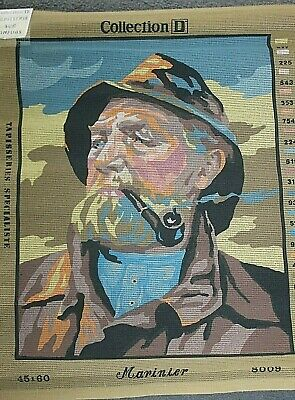 LARGE new Tapestry Canvas  COLLECTION D   ' Mariner'    60cm x 47cm