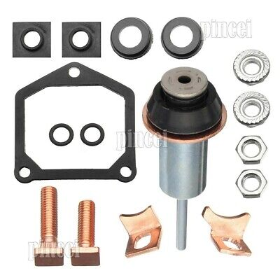 Starter Solenoid Repair Rebuild Kit Contacts Parts Fit For Toyota Subaru