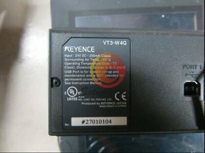 1PC Used Keyence VT3-W4G Touch Panel